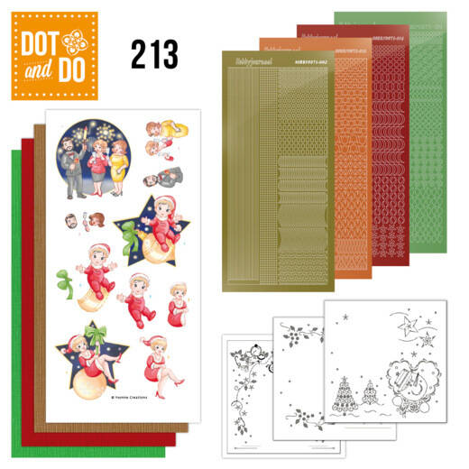 DODO213 - Dot and Do 213 - Yvonne Creations - The Heart of Christmas - Fireworks