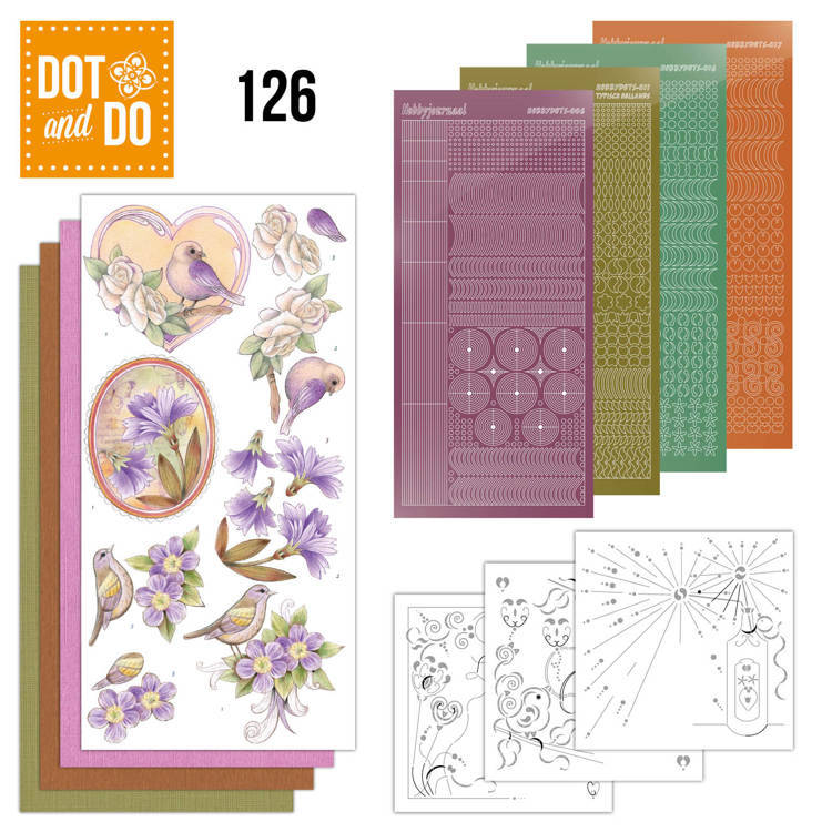 DODO126 - Dot & Do 126 - Vintage Flowers