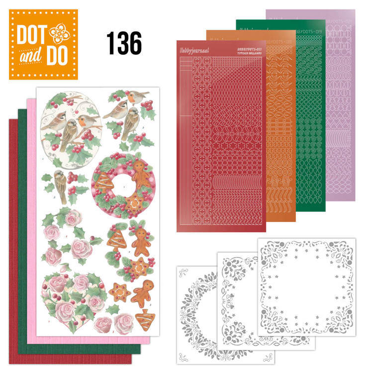 DODO136 - Dot & Do 136 - Christmas Florals
