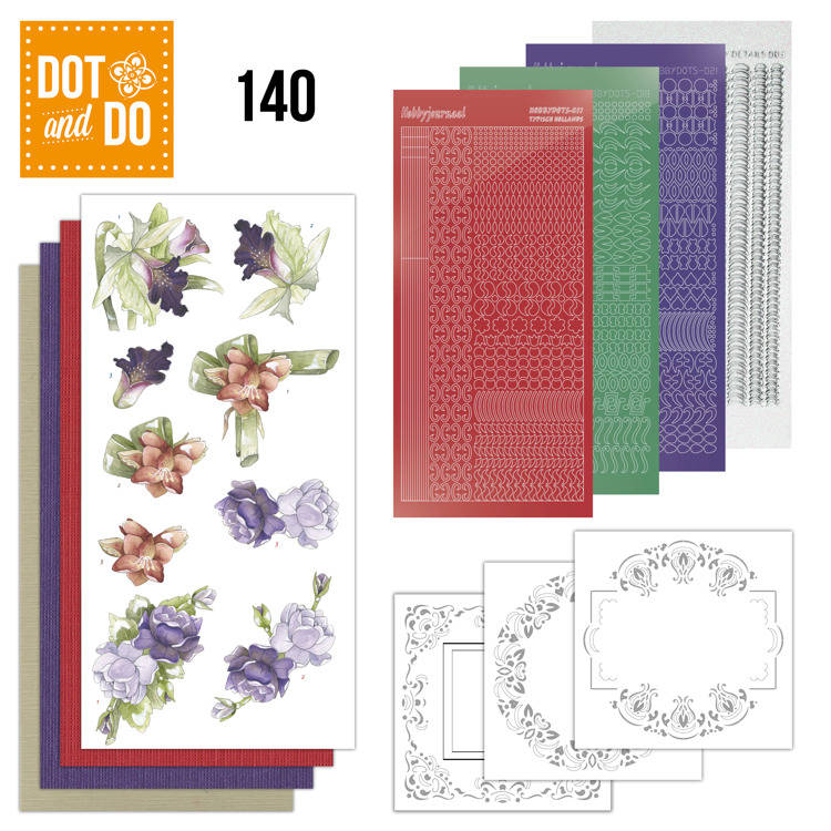 DODO140 - Dot & Do 140 Winter Flowers
