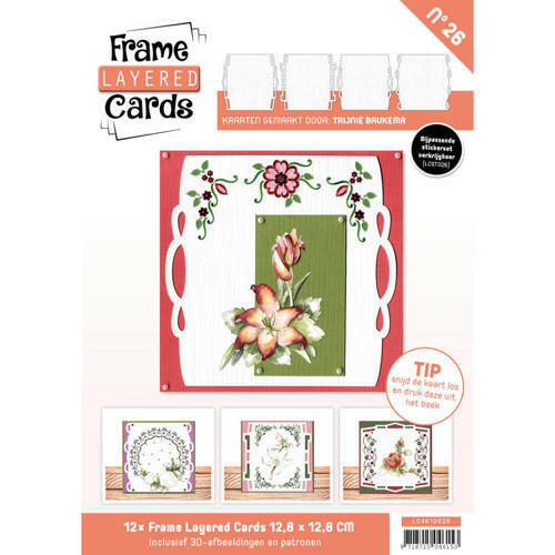 LC4K10026 - Frame Layered Cards 26 - 4K
