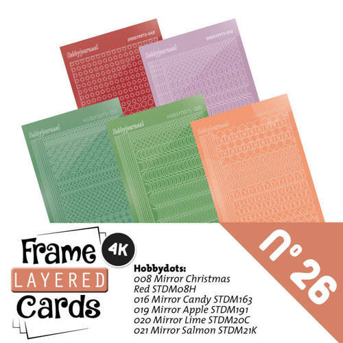 LCST026 - Frame Layered Cards 26 - Stickerset