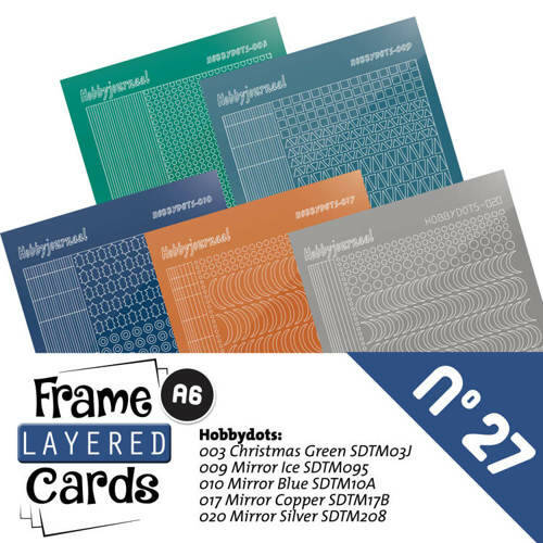 LCST027 - Frame Layered Cards 27 - Stickerset
