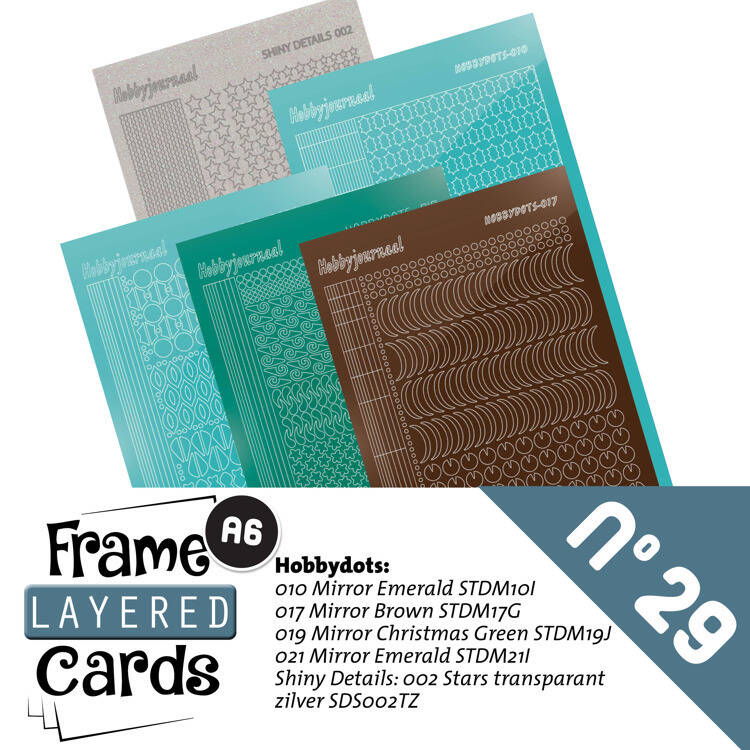 LCST029 - Frame Layered Cards 29 - Stickerset