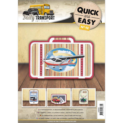 Quick and Easy 13- Amy Design - Daily Transport (Compleet)