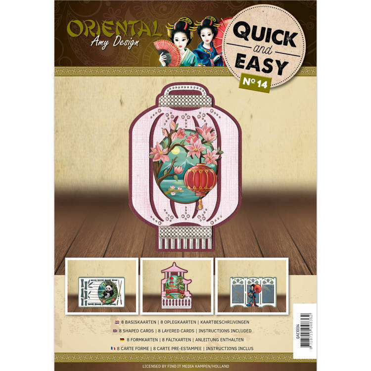 Quick and Easy 14 - Amy Design Oriental (Compleet)