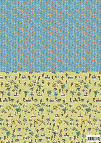 SETBGS10003 - Background sheets - Yvonne Creations - Summer Holiday