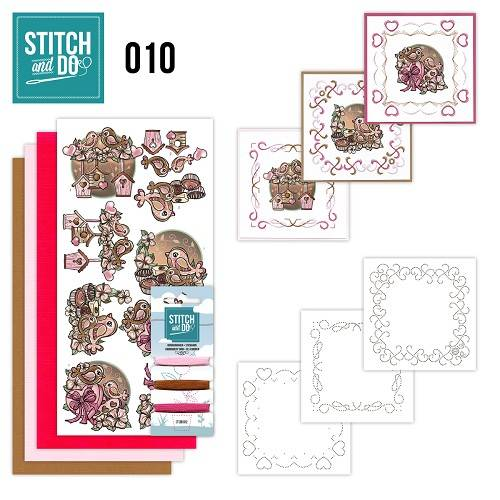STDO010 - Stitch & Do 10 - Moederdag