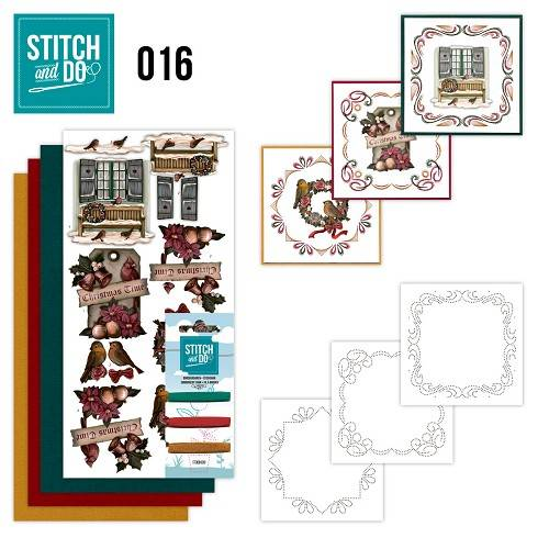 STDO016 - Stitch & Do 16 - Brocante kerst