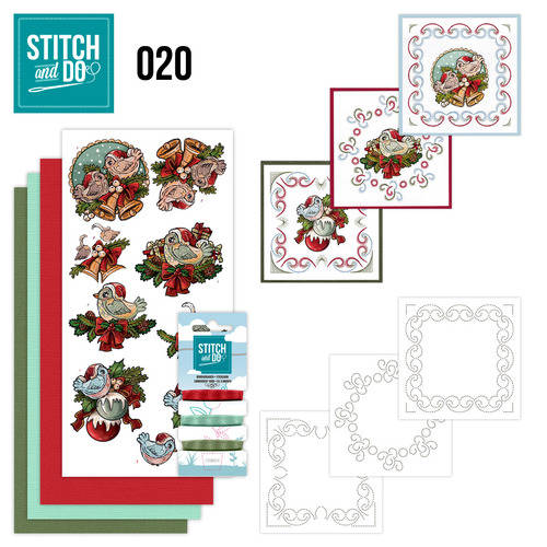 STDO020 - Stitch & Do 20 - Christmas Tweety