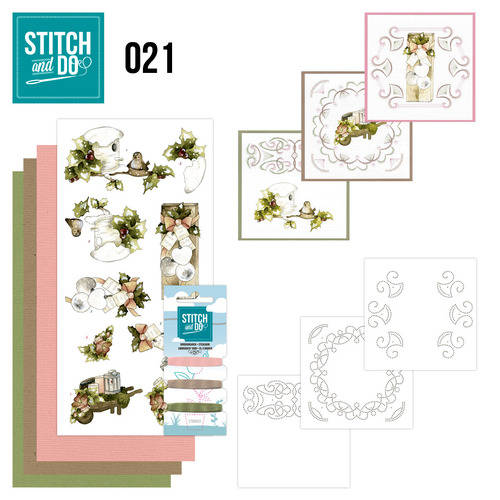 STDO021 - Stitch & Do 21 - Rustic Christmas