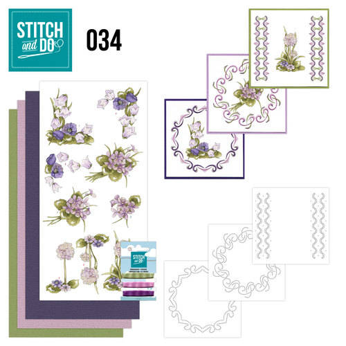 STDO034 - Stitch & Do 34 - Field flowers