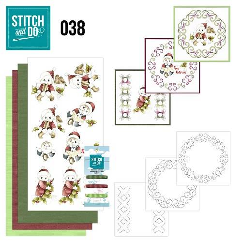 STDO038 - Stitch & Do 38 - Christmas Children