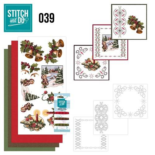 STDO039 - Stitch & Do 39 - Christmas Greetings