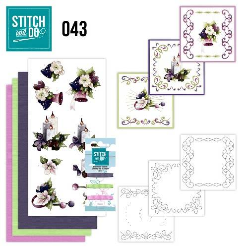 STDO043 - Stitch & Do 43 - Purple Colored Christmas