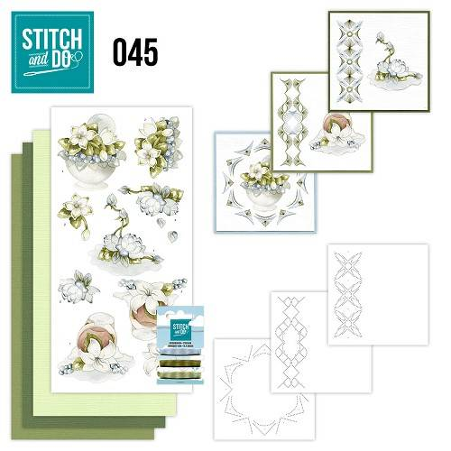 STDO045 - Stitch & Do 45 - Winterflowers