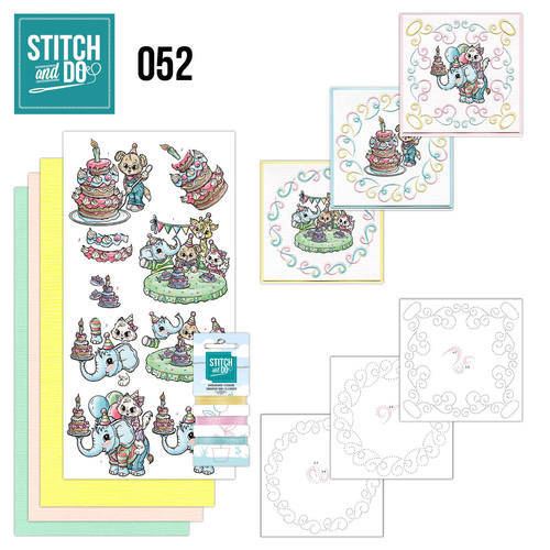 STDO052 - Stitch & Do 52 - Tods and Toddlers