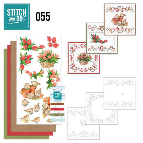 STDO055 - Stitch & Do 55 - Garden Classics
