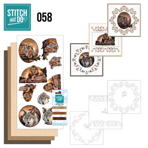 STDO058 - Stitch & Do 58 - Wild Animals