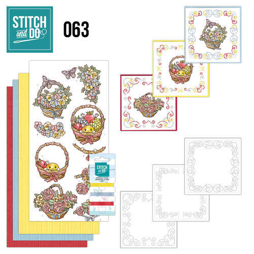 STDO063 - Stitch & Do 63 - Get Well soon