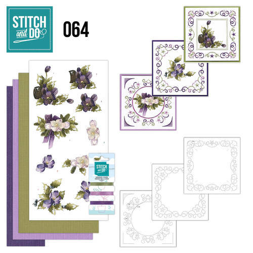 STDO064 - Stitch & Do 64 - The nature of christmas
