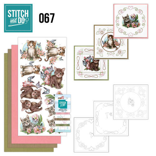 STDO067 - Stitch & Do 67 - Cats