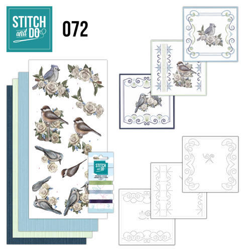 STDO072 - Stitch & Do 72 - Vintage Winte