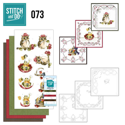 STDO073 - Stitch & Do 73 - Get well soon