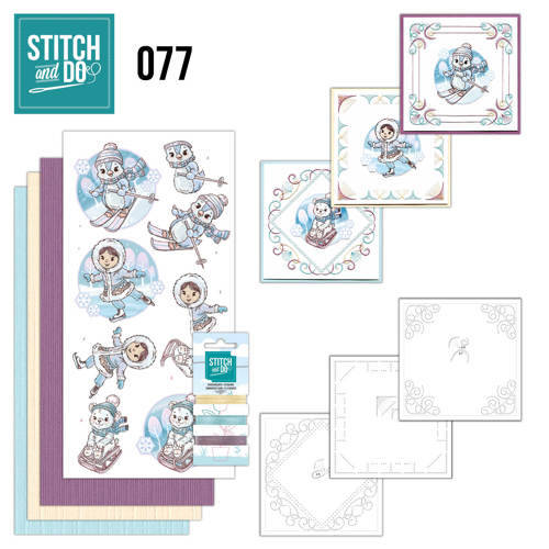 STDO077 - Stitch & Do 77 - Winter Fun