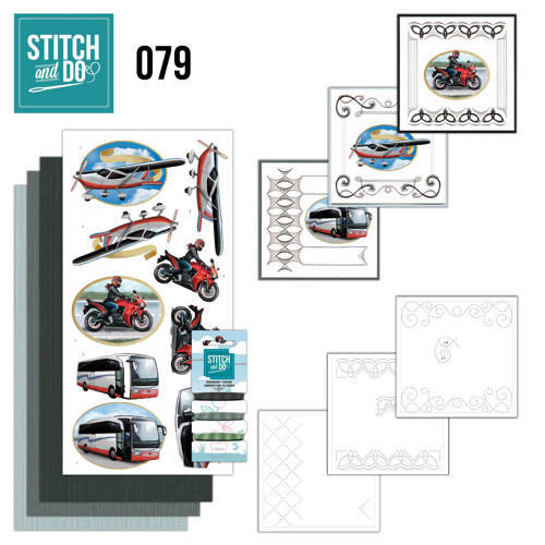STDO079 - Stitch & Do 79 - Daily transport