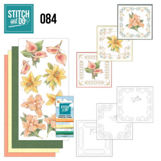 STDO084 - Stitch & Do 84 - Yellow Flowers
