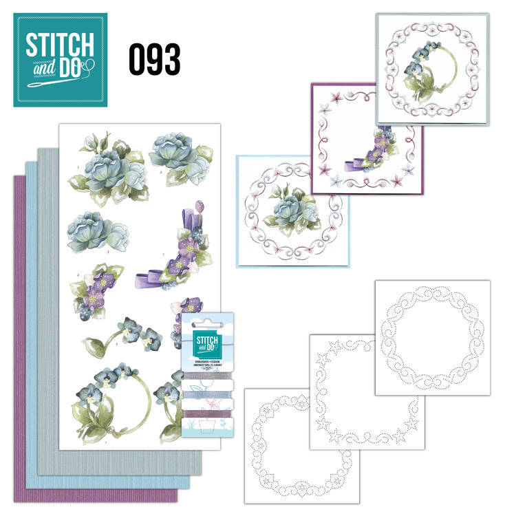 STDO093 - Stitch & Do 93 - Winterflowers