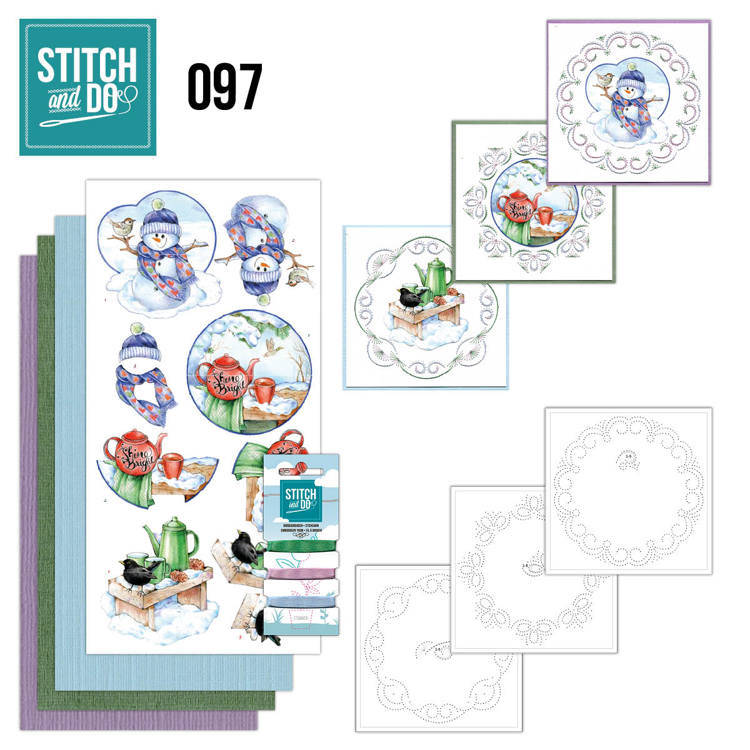 STDO097 - Stitch & Do 97 - Warm Winter