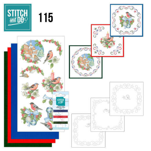 STDO115 - Stitch & Do 115 - Christmas Birds