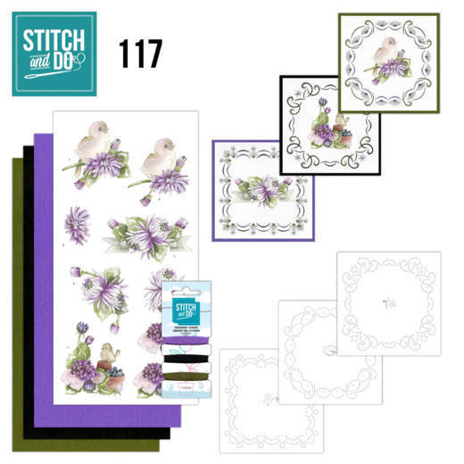 STDO117 - Stitch & Do 117 - Chrysanthemum