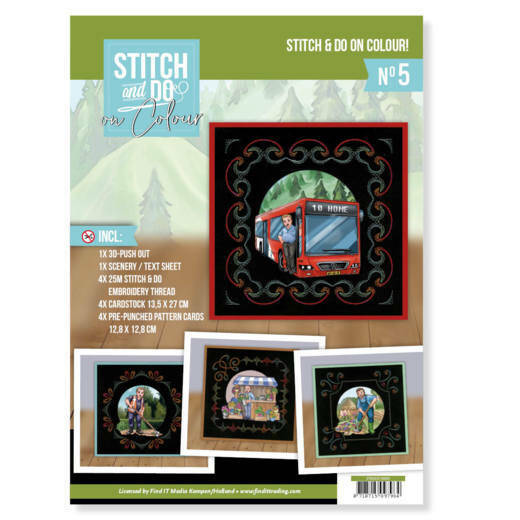 STDOOC10005 - Stitch and Do on Colour 005 - Yvonne Creations - Big Guys professions