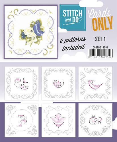 COSTDO10001 - Stitch & Do - Cards only - Set 1