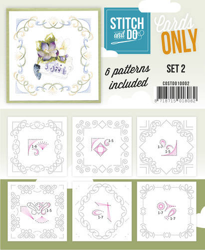 COSTDO10002 - Stitch & Do - Cards only - Set 2
