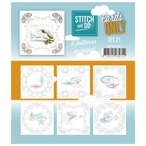 COSTDO10021 - Stitch & Do - Cards only - Set 21