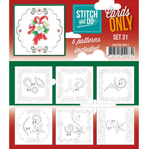 COSTDO10031 - Stitch & Do - Cards only - Set 31