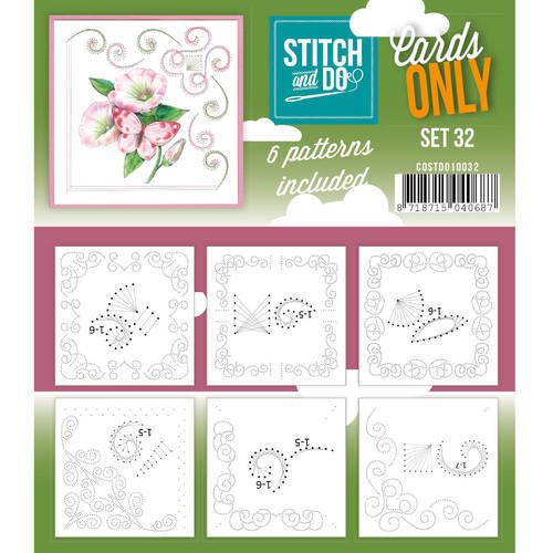COSTDO10032 - Stitch & Do - Cards only - Set 32