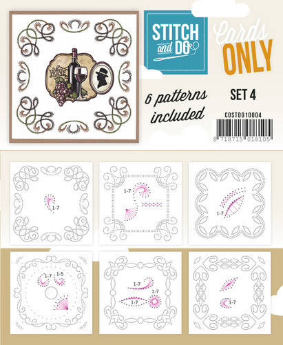 COSTDO10004 - Stitch & Do - Cards only - Set 4
