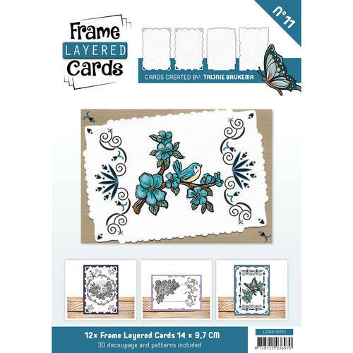 LCA610011 - Frame Layered Cards 11 - A6