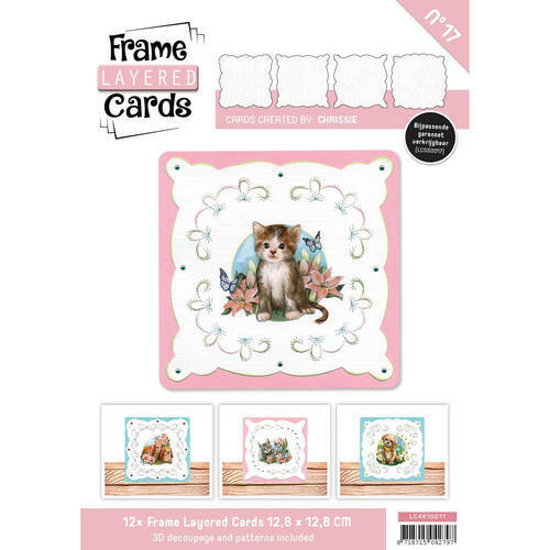LC4K10017 - Frame Layered Cards 17- 4K