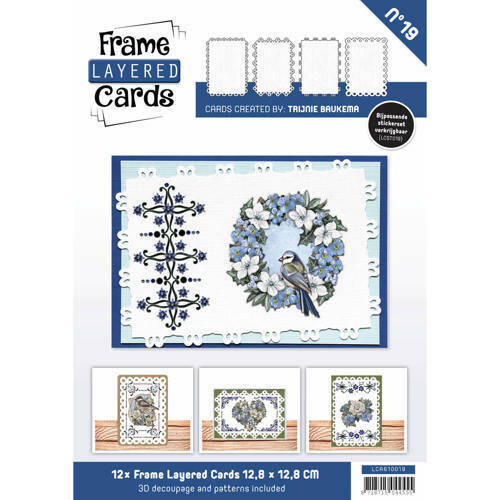 LCA610019 - Frame Layered Cards 19 - A6