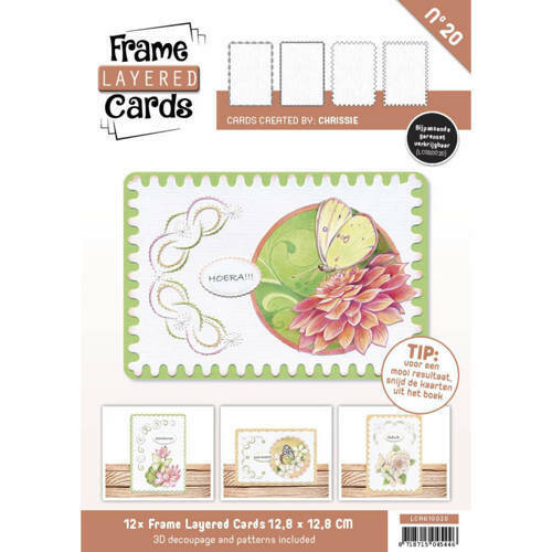 LCA610020 - Frame Layered Cards 20 - A6
