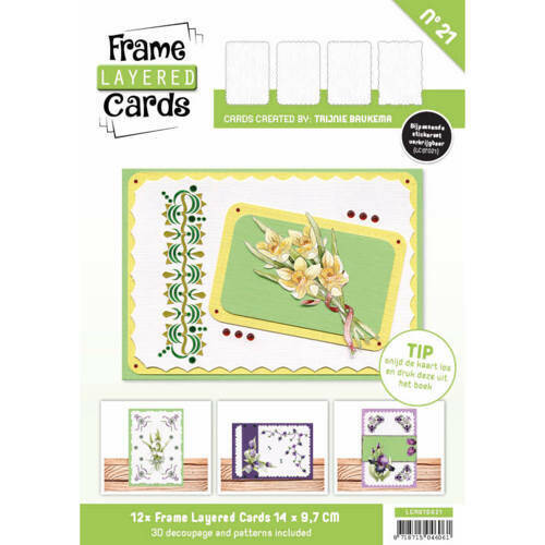 LCA610021 - Frame Layered Cards 21 - A6
