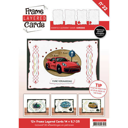 LCA610022 - Frame Layered Cards 22 - A6