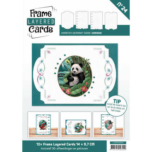 LCA610024 - Frame Layered Cards 24 - A6