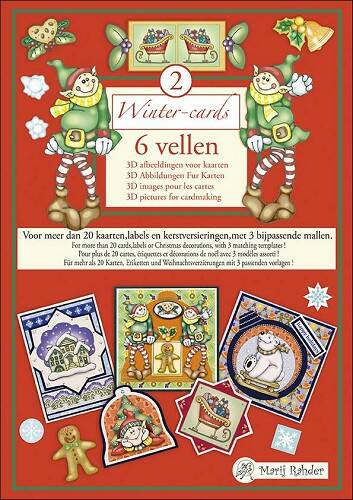 MRWC02 - Marij Rahder Wintercards 2 3D Book